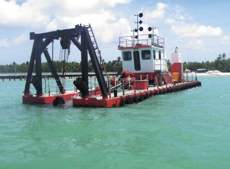 Cutter Section Dredger